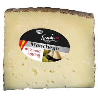 Smak Manchego 12md lagring ca 150g