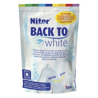 Nitor Tekstilfarge Back to White 400g