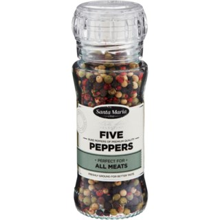 Santa Maria Extra Fine Selection Five Peppers 60g