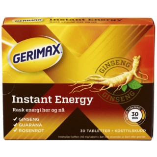 Gerimax Extreme Energy 30 tabletter
