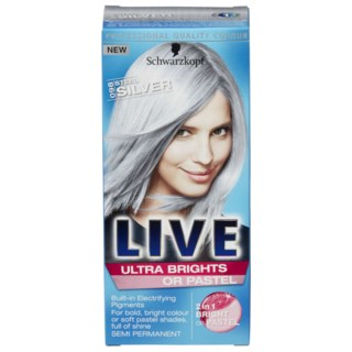 Live Ultra Brights Steel Silver