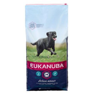 Eukanuba Dog Adult Large 15kg Fôr