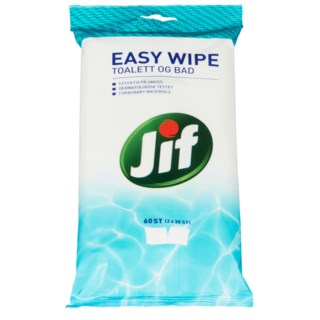 Jif Easy Wipe Toalett og Bad