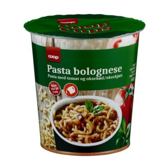 Coop Pasta Bolognese 68g