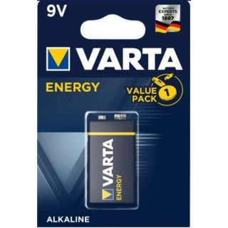 Varta Energy 9V batteri