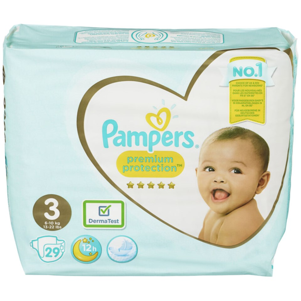 Pampers Premiumprotection S3 6-10kg 29stk