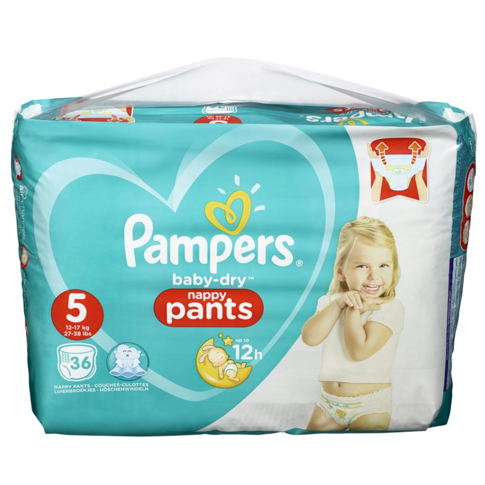 Pampers Babydry Pants S5 11-18kg