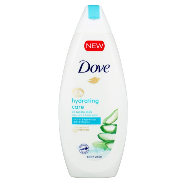 Dove Shower Gel Hydrating Care 225ml
