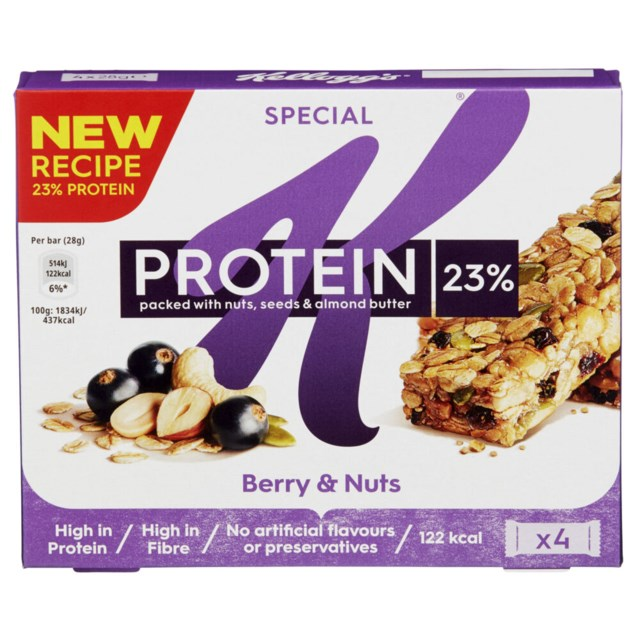 Special K Protein Berry & Nuts 4x28g