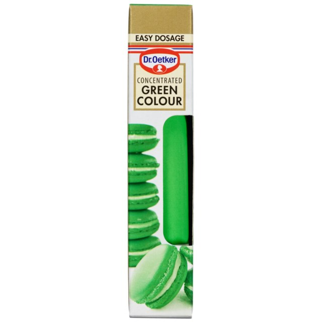 Dr. Oetker Green Colour 15g