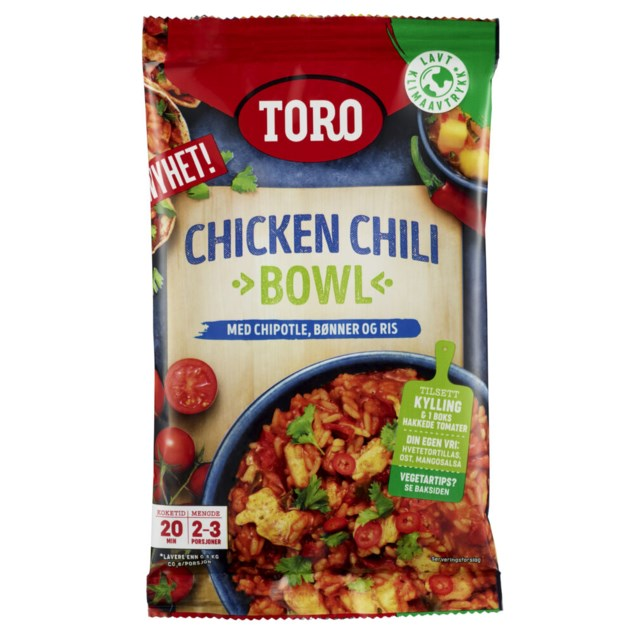 Toro Chicken Chili Bowl 170g