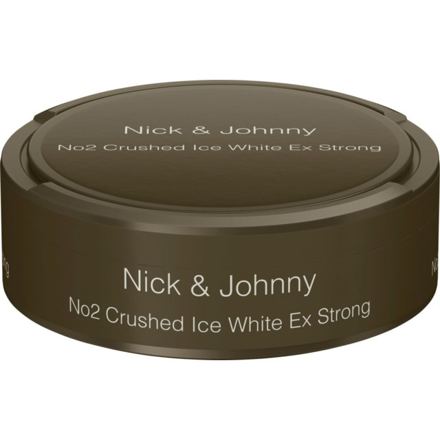 Nick & Johnny Crushed Ice Xtra Strong White 22g