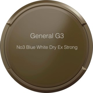General G3 No3 Blue White Extra Strong 16,6g