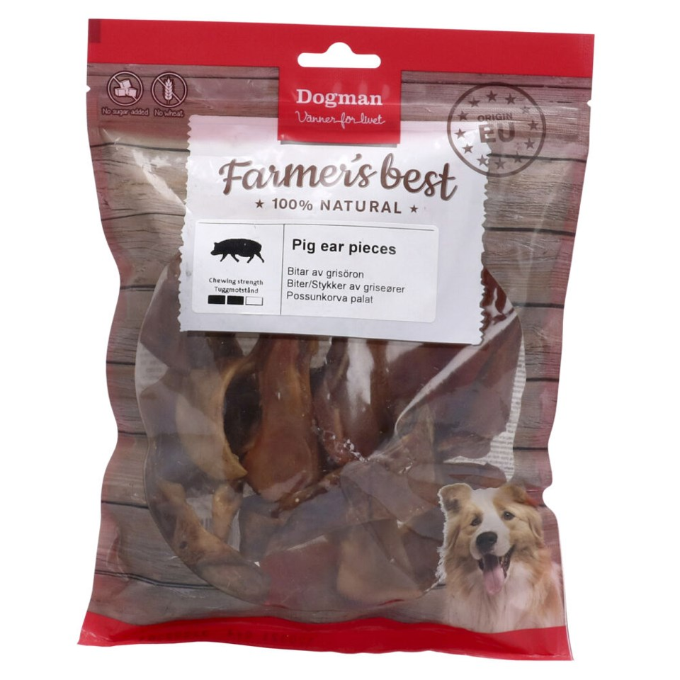 Pig Ear Pieces 250g