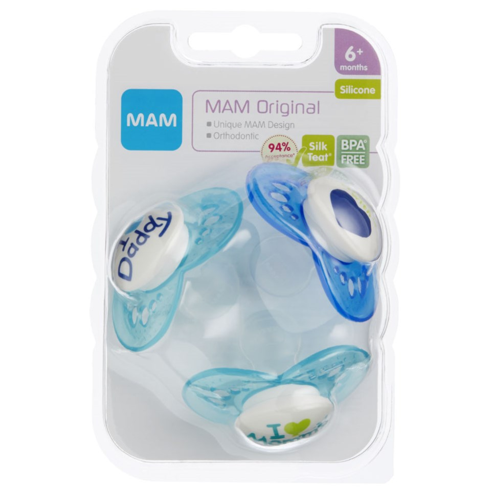 Mam Smokk Orginal Blue 6md 3pk