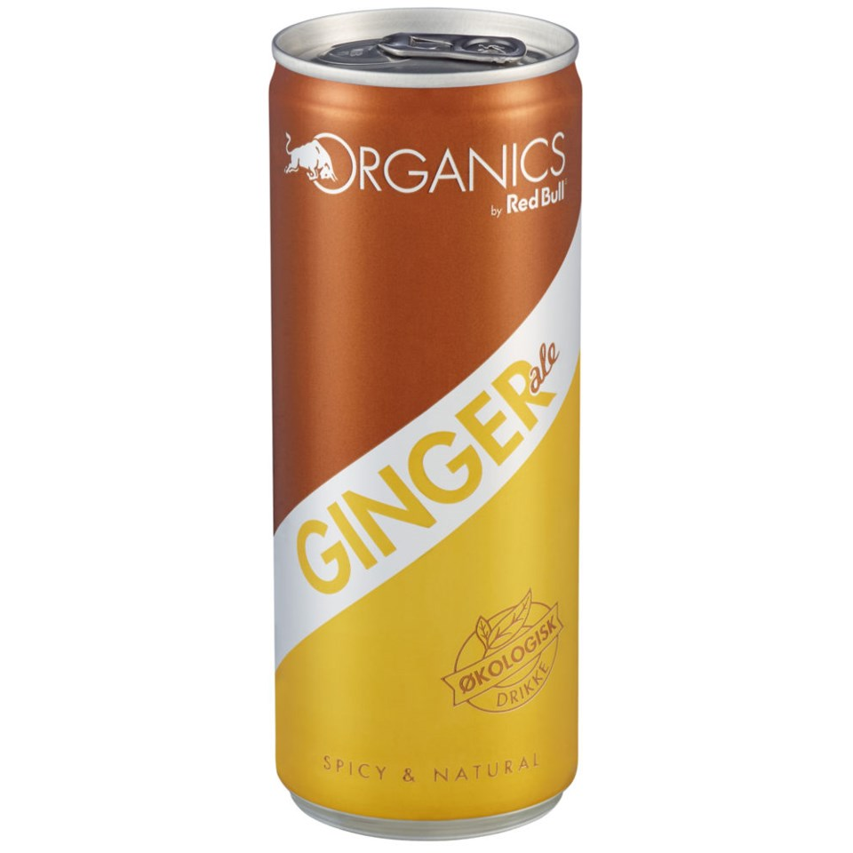 Red Bull Ginger Ale Økologisk 250 ml