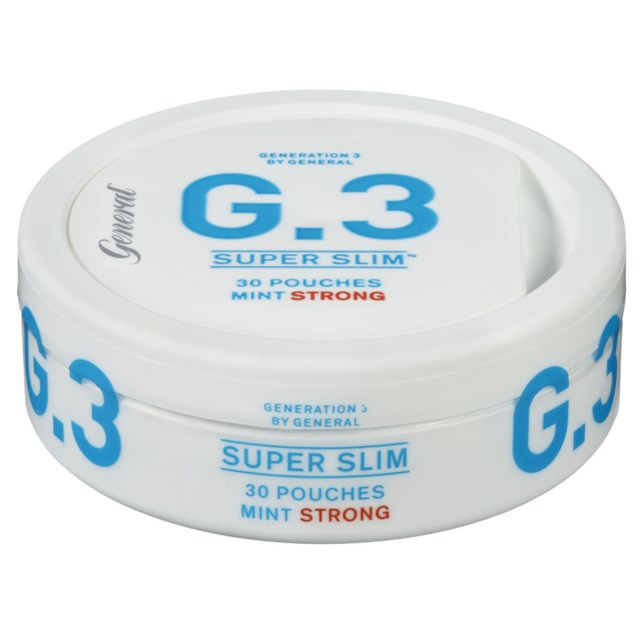 G3 Superslim Blue Mint Strong White Portion 16,5g